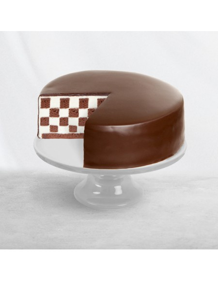 Chocolate Checkered Cake