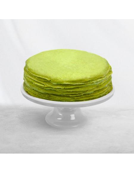 Matcha Crêpe Cake